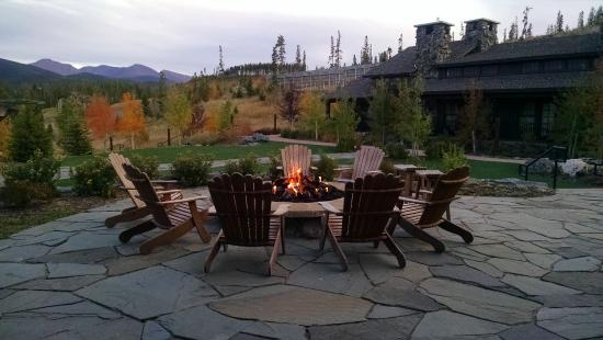 Tabernash, CO: Firepit High Lonesome Lodge