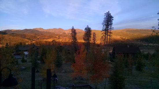 Tabernash, CO: Sunset