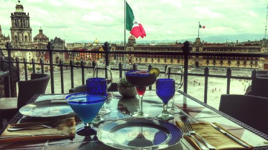 Gran Hotel Ciudad de Mexico: La Terraza