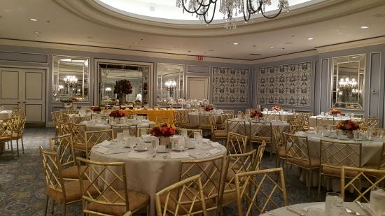 Cotillion room picture of the pierre a taj hotel new for Pierre hotel new york