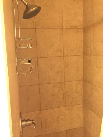 Munising Motel: shower
