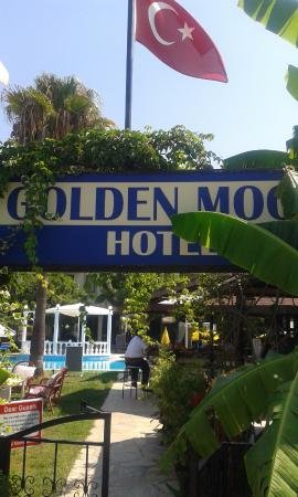 Golden Moon: Pool entrance