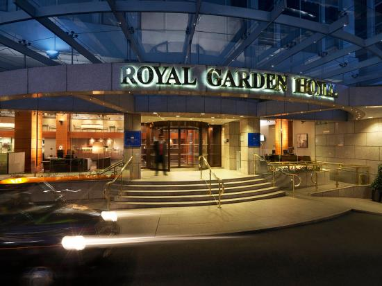 Entrance at Royal Garden Hotel London