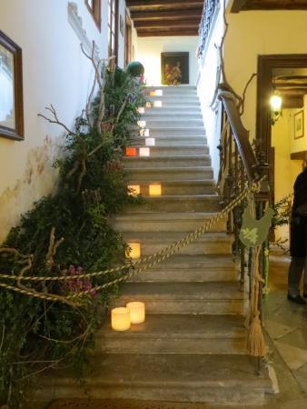 Castello di Strassoldo di Sopra: Locali interni