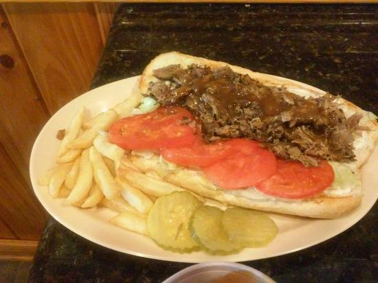 Winnfield, LA: Roast Beef Poboy