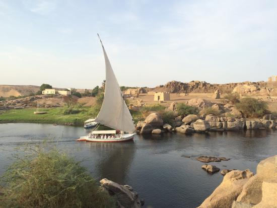 Nubian Restaurant: The great view and good food here!
