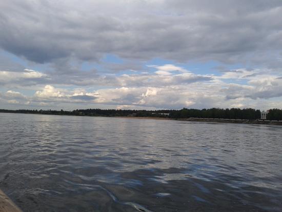 Permsky District, Russland: Кама  в Районе Усть Качки