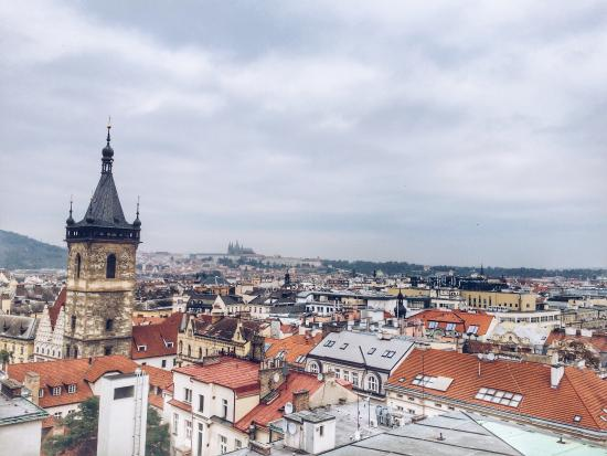Hotel Suite Home Prague: Amazing Suite Home Castle View❤️Just from hotel terrace!