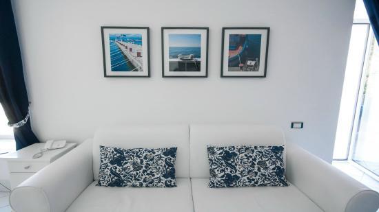 Palazzo Dogana Resort : Camera vista mare