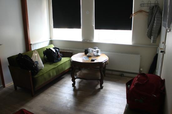 Bed & Breakfast PostGaarden: angolo salotto