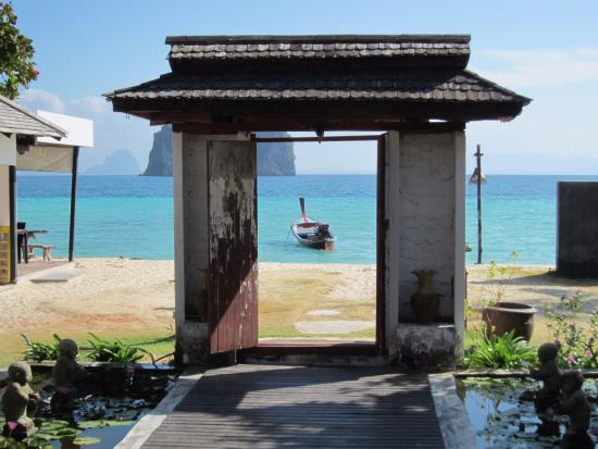Koh Ngai Thanya Beach Resort: Udsigt