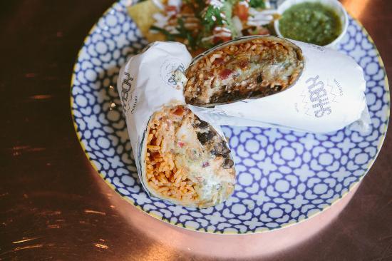 The Great Gatsby: Breakfast Burrito