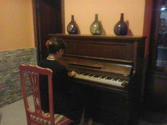 De Cadiz Cadi Hostel: Piano
