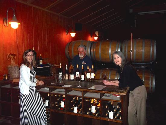 O Neals, CA: Ray and Tammy Krause on our most recent visit.  A delight as always.  Great wines, great company