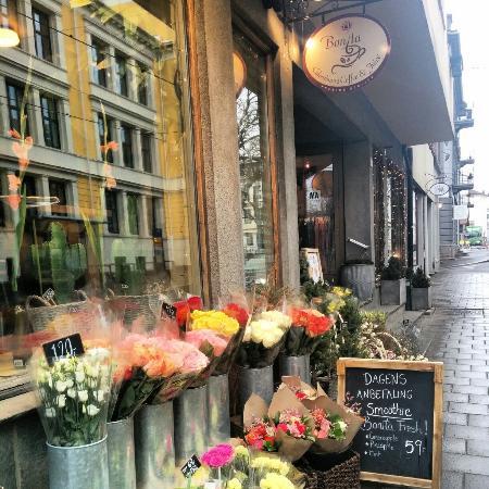 blomsterbutikk karl johan