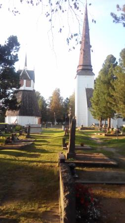 Tornio, Finland: View from the cemetry