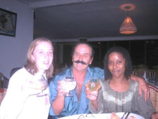hostellerie de france restaurant: birthday costomer