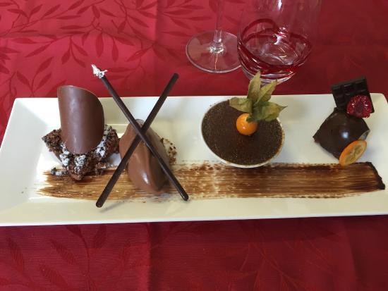 Le Muratore: Déclinaison autour du chocolat valrhona