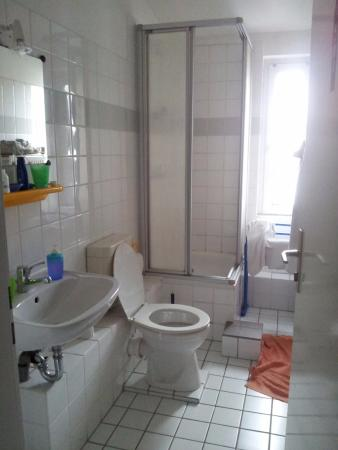 Hotel Pension Rehberge: Bagno ad uso privato