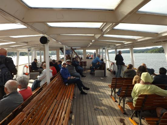 Bowness-on-Windermere, UK: cruise boat