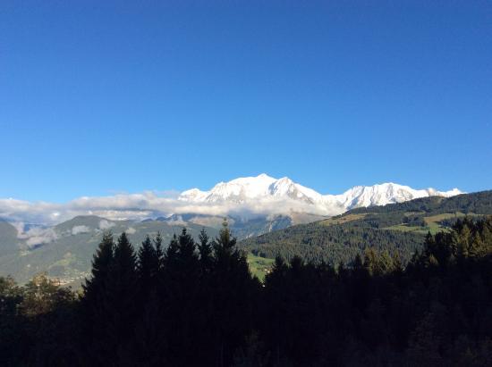 vue du balcon de notre chambre picture of chalet hotel alpen