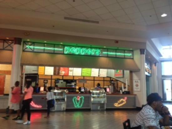 Inside Food Court At The Mall At Barnes Crossing Picture Of Sweet