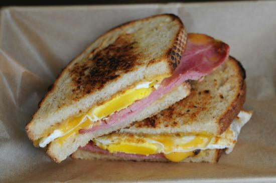 Breakfast Grilled Cheese! - Picture of The American Grilled Cheese ...