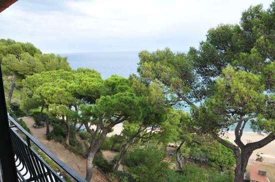 Hotel Santa Marta: Вид с балкона