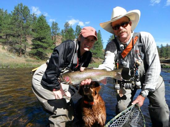 First time fly fishing picture of angler 39 s covey for Fishing colorado springs