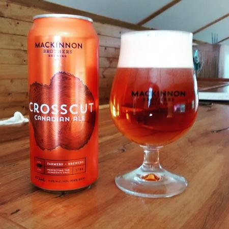 Bath, Canada: You can pick up tall cans of the Crosscut Canadian Ale in the bottle shop at the brewery.