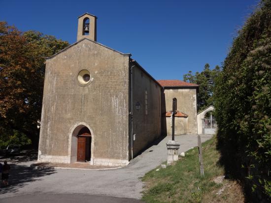 Eglise Sainte-Philomène, Comps-sur-Artuby (Var), France.
