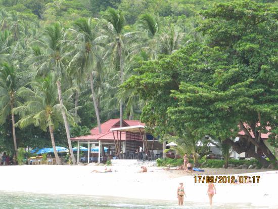 Promtsuk Buri: вид отеля с моря