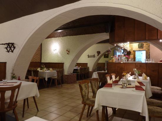 Reichenow, Allemagne : Restaurant im alten Gewölbekeller