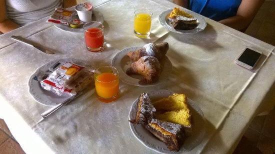 Corte Belvedere: colazione