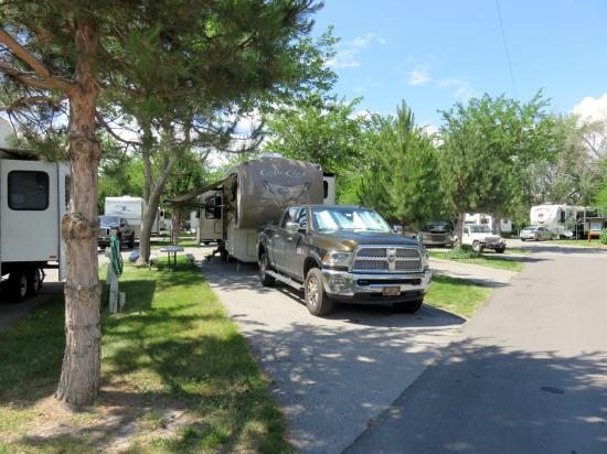 Salt Lake City KOA : Our Campsite