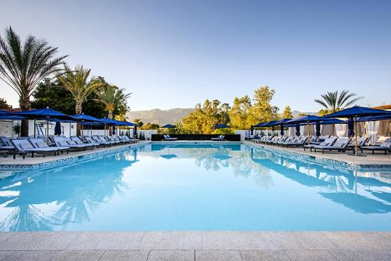 Ojai Valley Inn & Spa: Indigo Pool & Bar