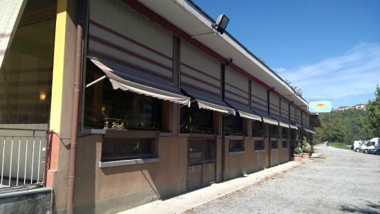 Il fiume Adda davanti al ristorante - Foto di La Terrazza sull\'Adda ...