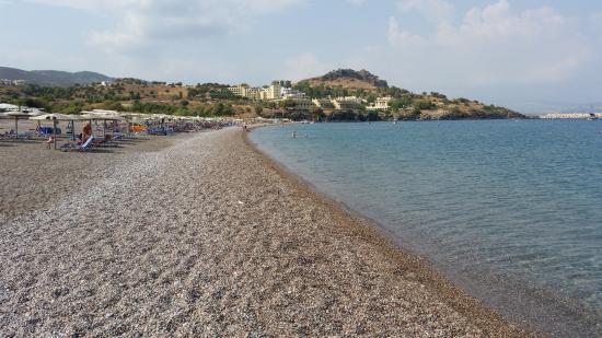 Lindos White Hotel and Suites: Vlicha beach