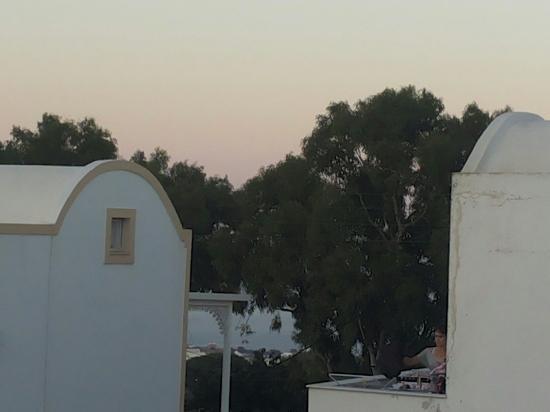 Villa Toula: Dal balcone della camera ♡