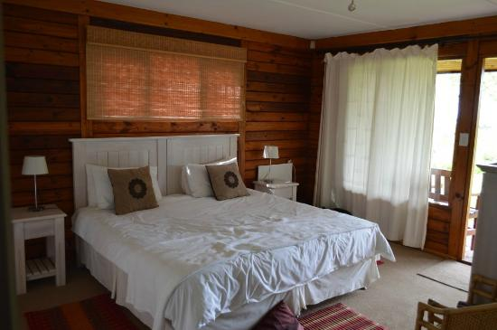 Piesang Valley Lodge : Our room