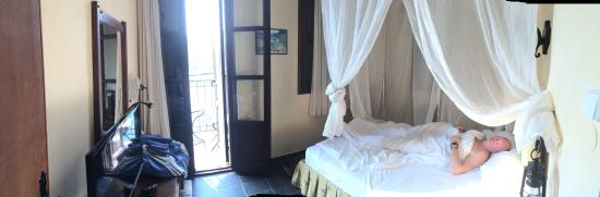 Hotel Kastellorizo: Inside our bedroom