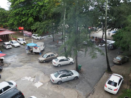 Cenang Plaza Beach Hotel Free Car Park Behind The