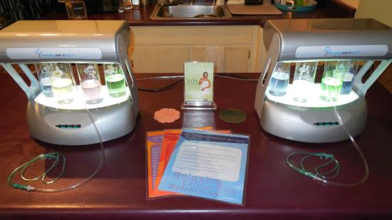 Elevate Day Spa: Oxygen Bar