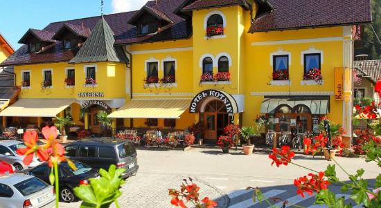 Hotel Kotnik: Yellow giant