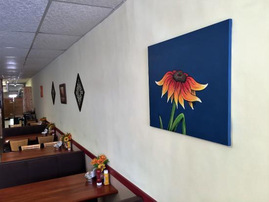 Saint Francis, Канзас: Comfortable seating, with Art
