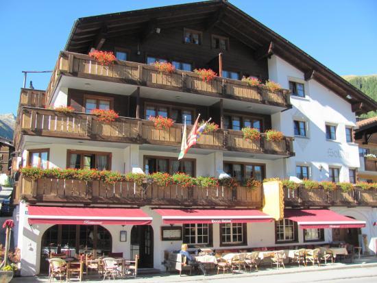 Sedrun, Suíça: Hotel Soliva