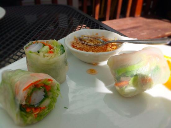 Best Thai Restaurant: Fresh Summer Rolls
