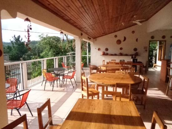 Hotel & Restaurant Guancascos: Vista del restaurante