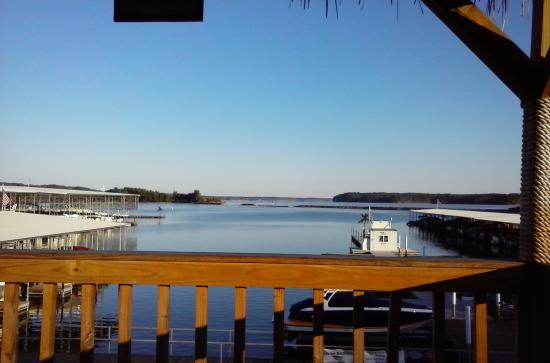 Kuttawa, KY: View from Hu-B's the Harbor Restaurant