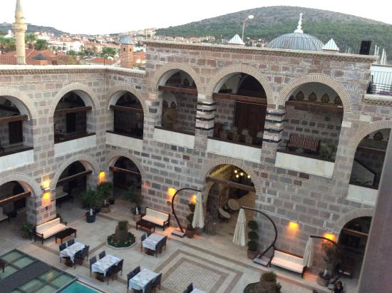 Kanuni Kervansaray Historical Hotel: Courtyard of Kervansaray Hotel